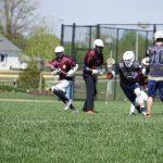 University High School Coed Varsity Lacrosse beat Scecina 8-2