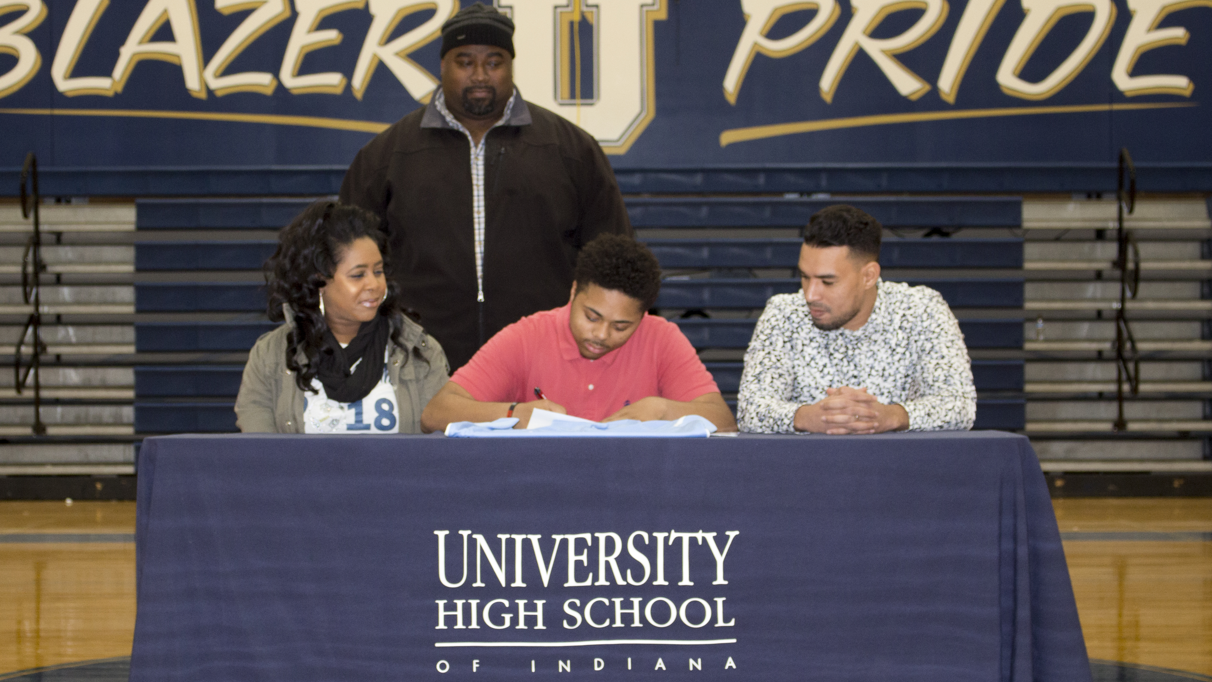 Randy Morton Signs National Letter of Intent