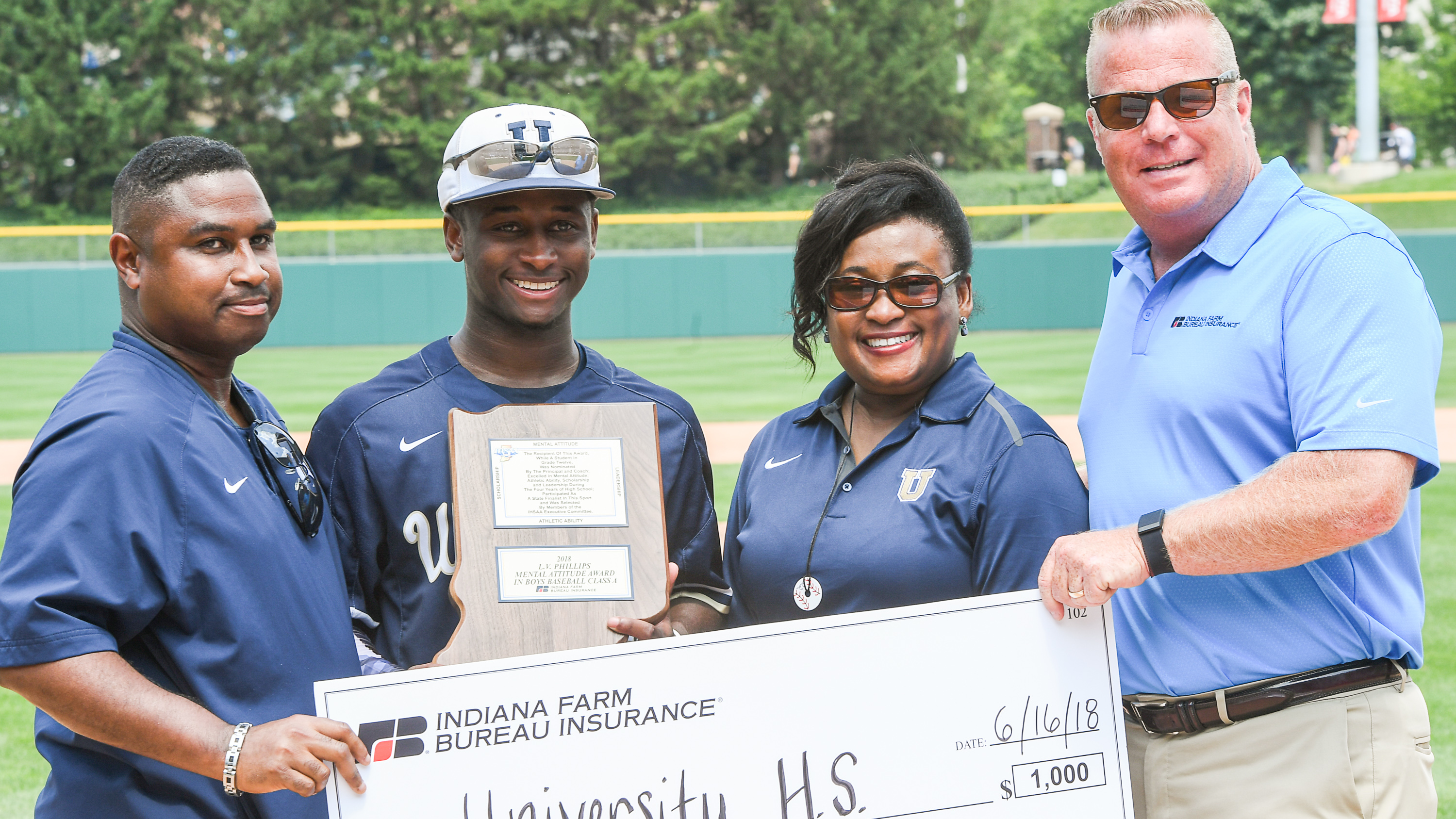 Williams Wins IHSAA Mental Attitude Award