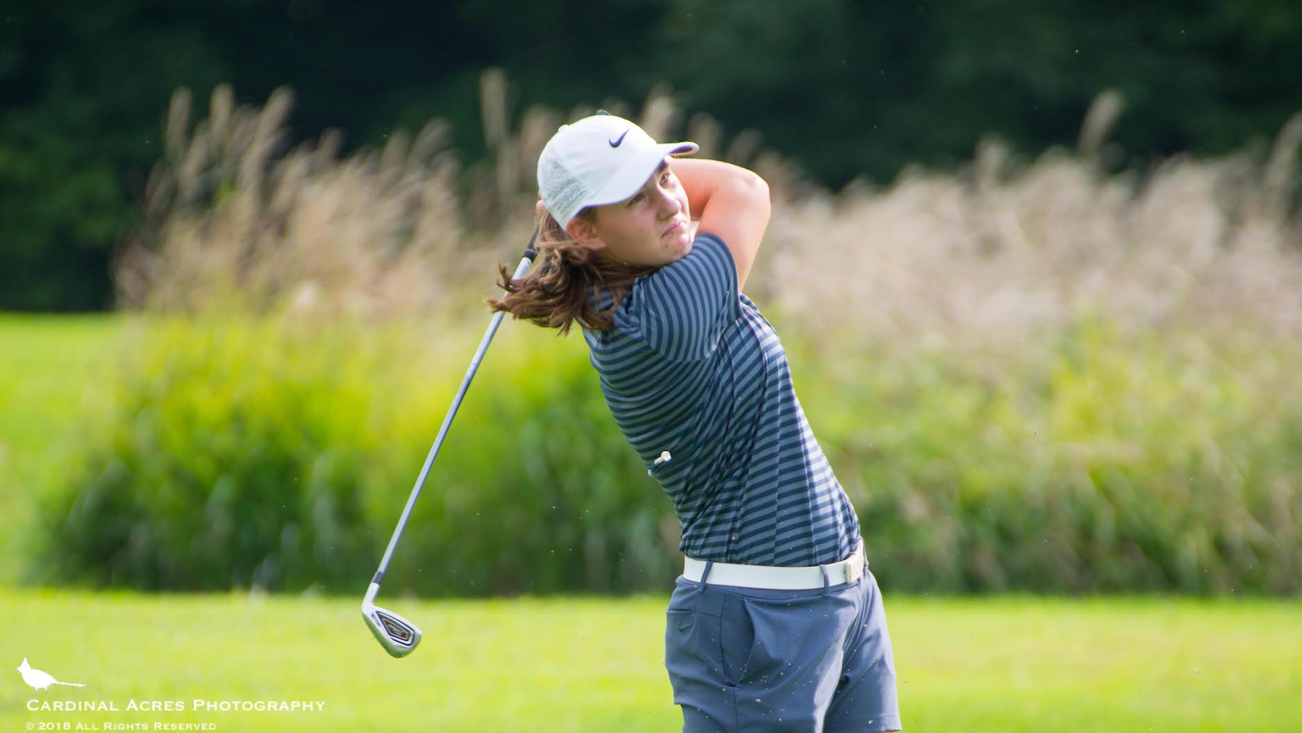 Becky Williams Advances to Girls Golf Regional