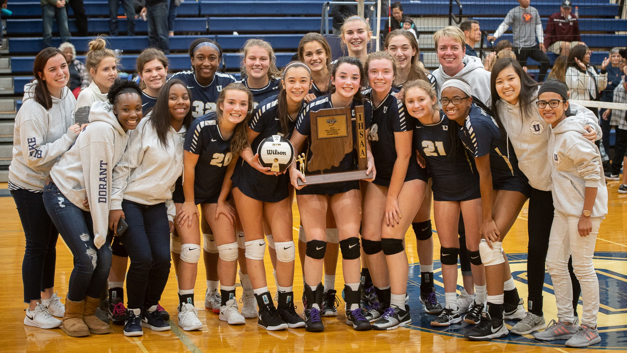 Volleyball Team Makes History, Wins Sectional Title
