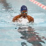 Boys Swimming Wins Tri-Meet Against Burris and New Castle