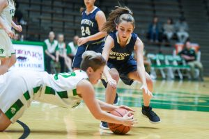 Photo Gallery – Junior Varsity girls at New Castle