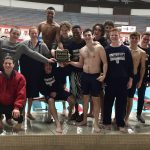 Boys Swimming Wins First Conference Title