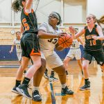 Girls Junior Varsity Basketball falls to Tri-West 50 – 21
