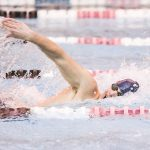 Records Set and Broken at Boys Swimming Sectionals; Keegan Priest Qualifies for States