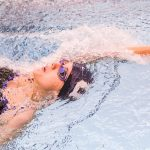 School Record Set by Charlotte Kumler at Brebeuf Schools with No Pools Invitational