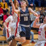 Boys Varsity Basketball loses close one to Ritter