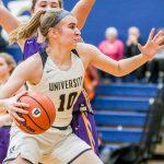 Girls Varsity Basketball beats Guerin 56 – 39