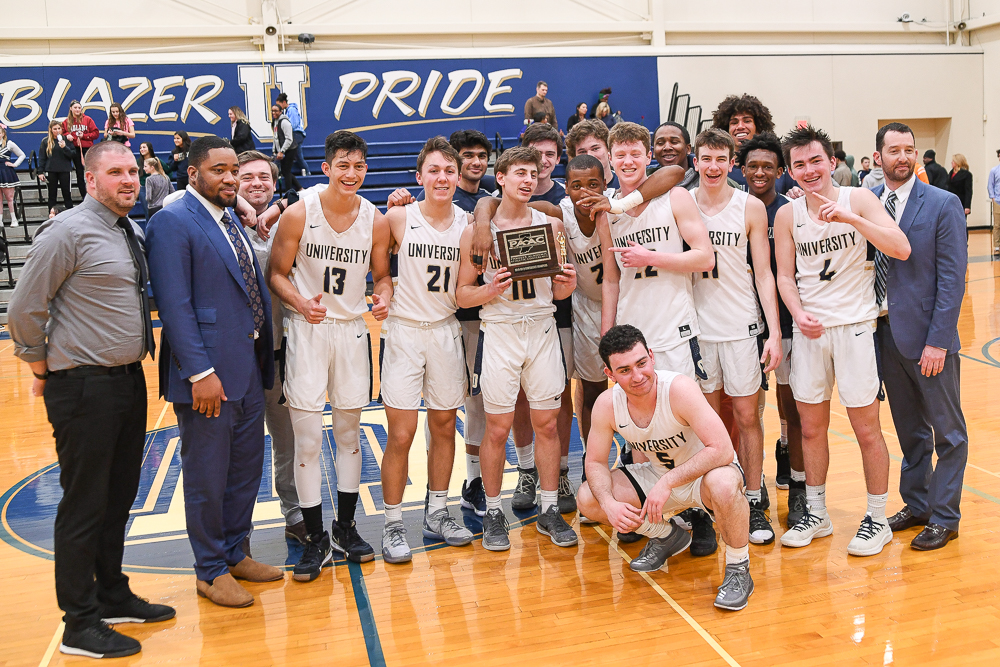 Boys Basketball Team Wins Conference Championship