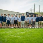 Boys varsity golf falls just short against Greenwood Christian
