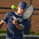Boys Varsity Tennis falls to Danville 3 – 2