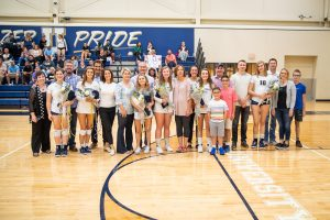 Photo Gallery – Volleyball Senior Night (JV and Varsity)