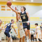 Boys Varsity Basketball beats Speedway 69 – 42