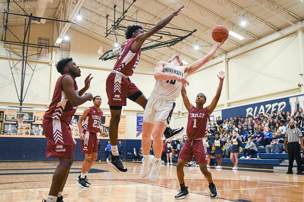 Boys Varsity Basketball beats Charles A. Tindley Accelerated School 50 – 33