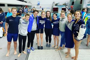 Photo Gallery – University Co-Ed Swim Team @ Schools Without Pools Meet