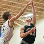 Boys Varsity Basketball falls to Brebeuf Jesuit Prep School 48 – 46