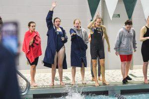 Photo Gallery – University Aquablazers – Girls Swimming Sectional Prelims
