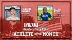 And the Indiana Members Credit Union Athlete of the Winter Season is….