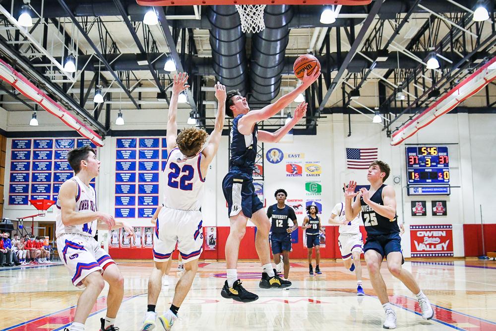 University at Owen Valley – Boys Varsity Basketball