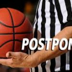 Tuesday, January 9 – School canceled and basketball games postponed