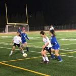 Girls Varsity Soccer falls to Wood 2 – 0
