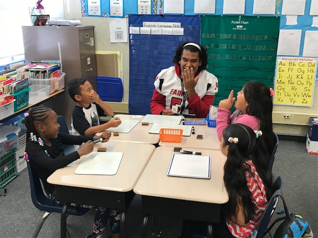 """Reading with the Falcons"""