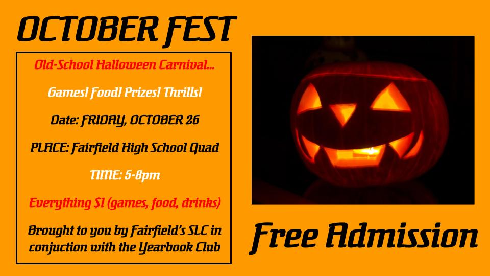 "Sports Leadership Council's ""October Fest"""