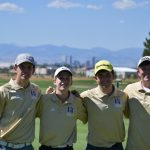Holy Family High School Boys Varsity Golf finishes 4th place