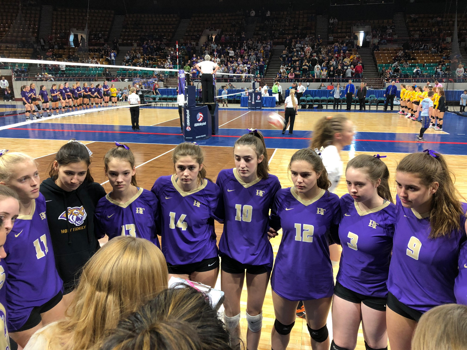 State volleyball: Tigers bow out to mighty Lewis-Palmer
