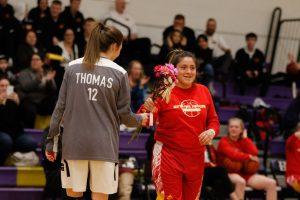 Girls basketball: : Senior Night vs. Skyline (February 12)