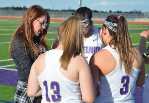 Girls lacrosse vs. South 4/24
