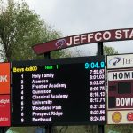 State track: Tigers cap big first day with boys 4×800 relay title