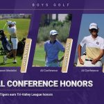 Boys golf: All Conference Honors