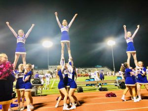 Cheer: Throughout the season — Phots by Lucy Nash