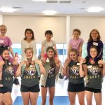Cheer: Mini Cheer clinic -- Photos by Lucy Nash