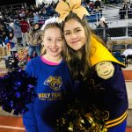 Cheer: vs. Northfield football with Minis -- Photos by Lucy Nash