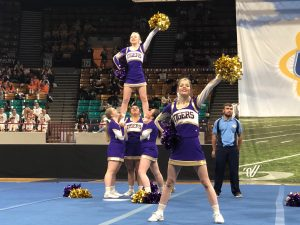 State cheer: Day 1 of State