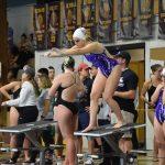 Girls swimming: Arapahoe Relays (12/14) -- Photos by Bill Plock