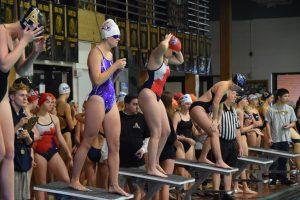 Girls swimming: Arapahoe Relays (12/14) — Photos by Bill Plock