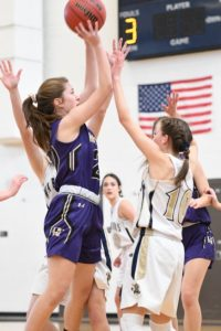 Girls JV basketball: at Frederick (1/4) — Photos by Rachel Wells