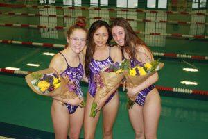 Girls swimming: Senior Night (1/16)