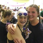 Girls swimming: Holy Family finishes 14th in state debut