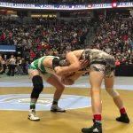 Wrestling: Branson's title hopes dashed in the semis