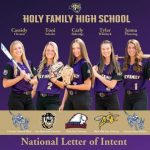 Softball: State champs send five players to the next level