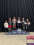 Wrestling: Bach lands on the podium, finishes sixth