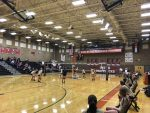 Volleyball: Mavs get the better of the Tigers