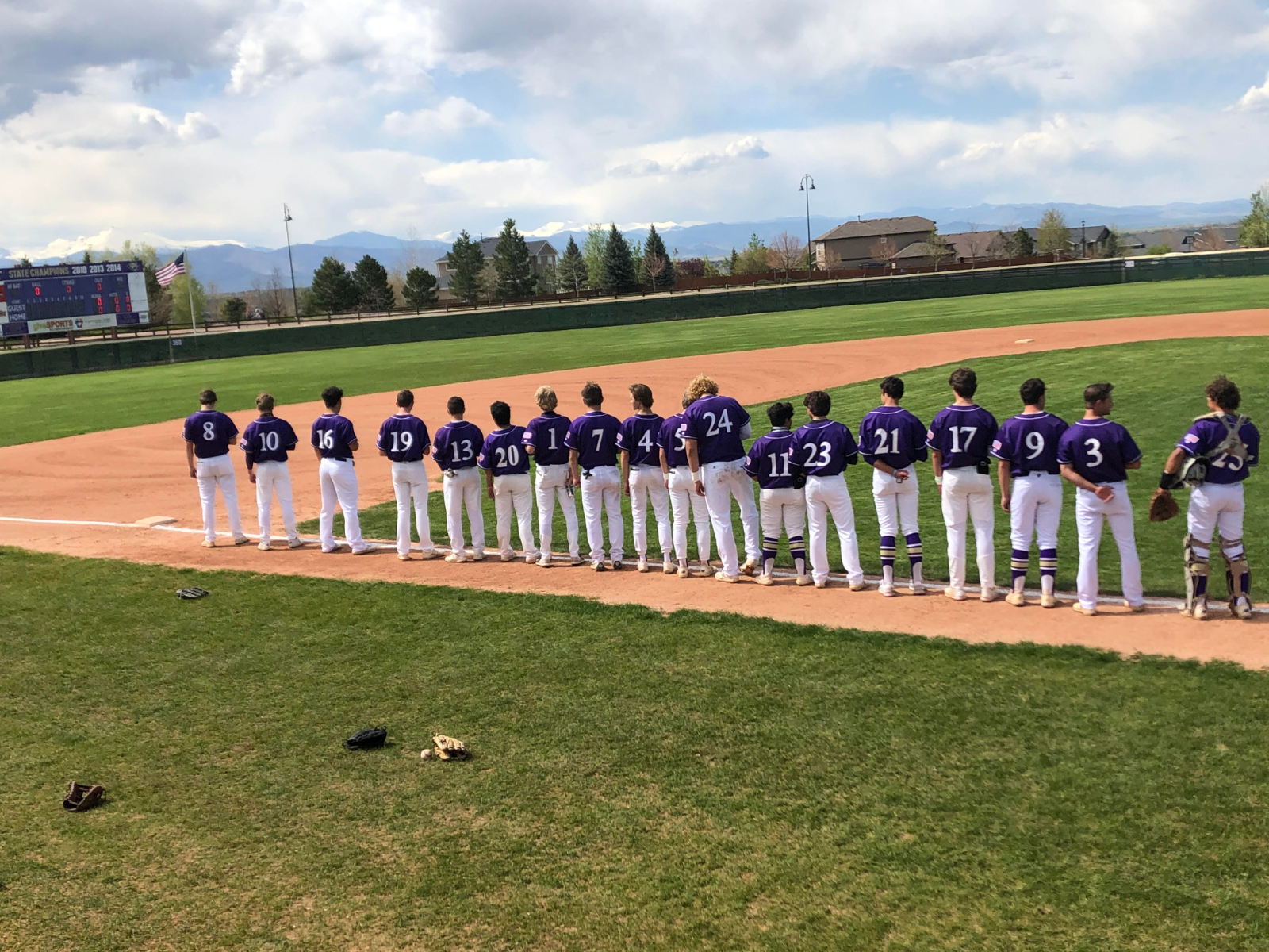 Baseball: Tigers roll in first home game since 2019