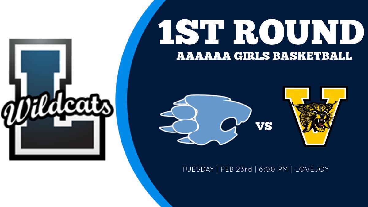 1st Round 6A Girls Basketball
