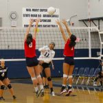 Eagles Sweep County Rival Central 3-0